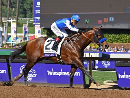 Drefong runs away with the Breeders' Cup Sprint