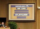 Uptown Twirl sells for $1.075 million at Keeneland November.