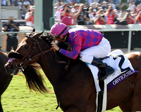 Obviously with Flavien Prat win the Breeders' Cup Turf Sprint (GI) at Santa Anita on November 5, 2016.