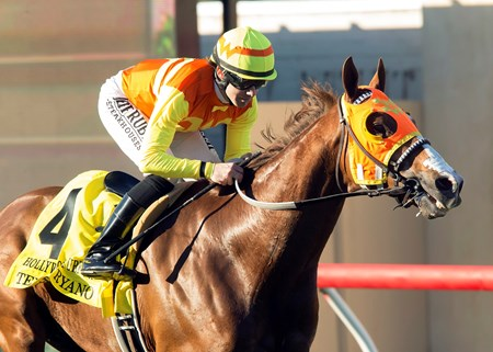 Texas Ryano wins the 2016 Hollywood Turf Cup, Friday, November 25, 2016 at Del Mar Thoroughbred Club, Del Mar CA. © BENOIT PHOTO