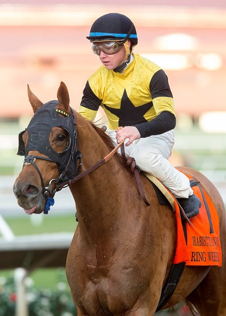 Ring Weekend wins the 2016 Seabiscuit Handicap