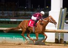 Gun Runner takes the Clark Handicap