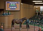 Ithinkisawapudycat, the dam of grade I winner Sweet Loretta, was for $2.2 million