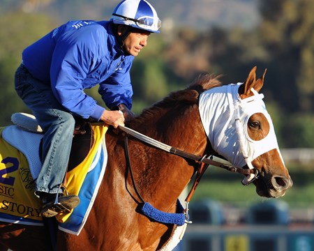 War Story at Santa Anita Tuesday morning
