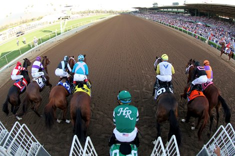 Santa Anita Park Offering Horse Racing Roulette Bloodhorse