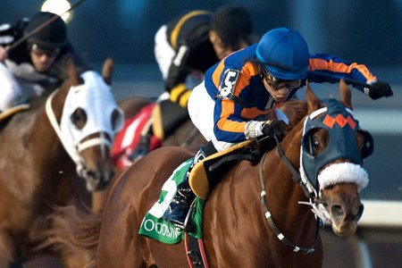 Undulated wins the 2016 Swynford Stakes at Woodbine Racetrack.