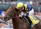 Constellation wins the 2016 La Brea Stakes