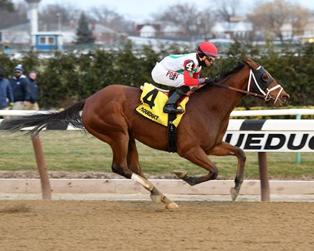 Send It In wins the 2016 Alex M. Robb Stakes