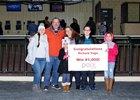 Richard Vega Gets 1,000th Win