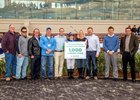 Trainer McGee Secures Milestone Win at Fair Grounds