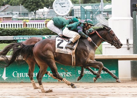 Scatman wins the 2013 Aristides at Churchill Downs