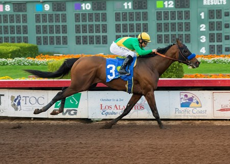 Mastery wins the Grade I 2016 Los Alamitos Cashcall Futurity