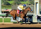 Vale Dori wins the La Canada Stakes