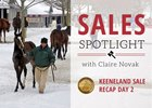 2017 Keeneland January Sale Recap Day 2