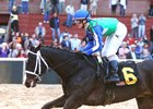 Uncontested wins the 2017 Smarty Jones Stakes at Oaklawn Park