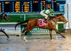 Guest Suite wins the Lecomte Stakes