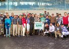 Robby Albarado celebrates his 5,000th win at Fair Grounds Race Course & Slots