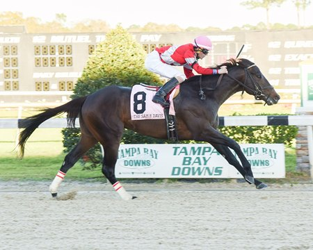 McCraken comes home strong to win the Sam F. Davis (G3)