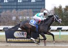 San Pablo faces graded stakes company for the first time in the Excelsior Stakes at Aqueduct.