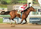 Battle of Midway won his six-furlong debut Jan. 21 at Santa Anita by 3 1/4 lengths
