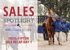 Fasig-Tipton Sale Kentucky Mixed Sale Recap Day 1