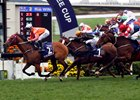 Helene Paragon wins the Queen's Silver Jubilee Cup at Sha Tin