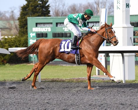 Purely A Dream Leads Bourbonette Exacta For Mcpeek