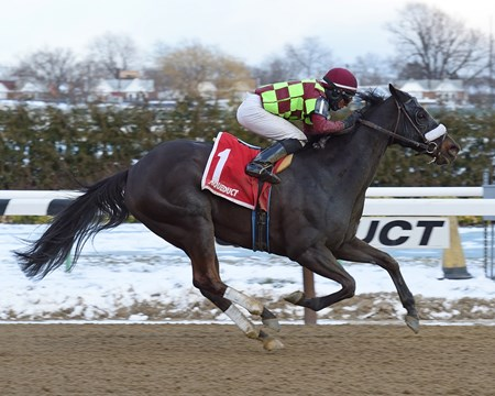 Spartiatis wins the Tom Fool H. (G3) Aqueduct, Grade III Stakes, $200,000, 4 yo's & up, 6 furlongs, 1:11.23, Fast.