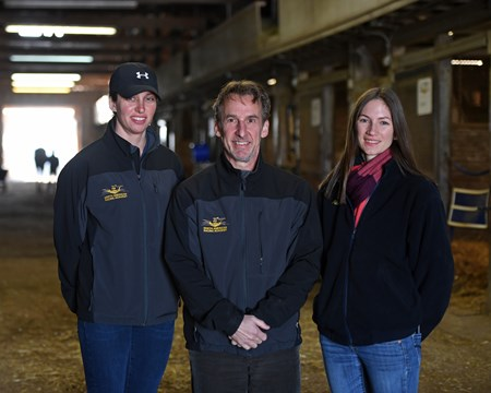 l-r, Dixie Hayes, Remi Bellocq, Alicia Benben