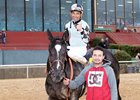 It Tiz Well after her victory in this year's Honeybee Stakes at Oaklawn Park