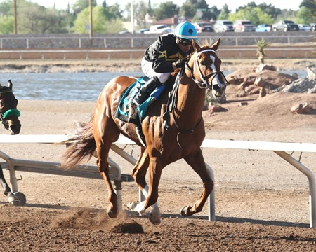 Hence wins the 2017 Sunland Park Derby (G3)