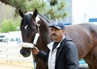 Mor Spirit arrives at Oaklawn Park