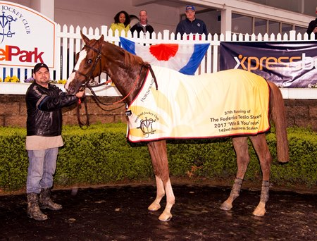 Twisted Tom Works Toward Belmont Stakes Bloodhorse