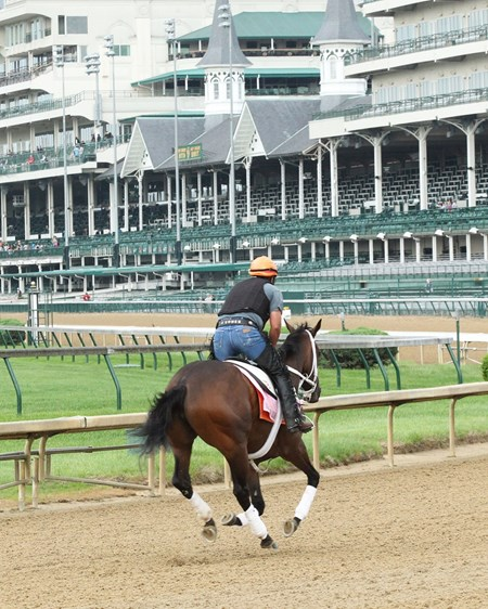 Miss Sky Warrior - Gallop - Churchill Downs - 04-30-17