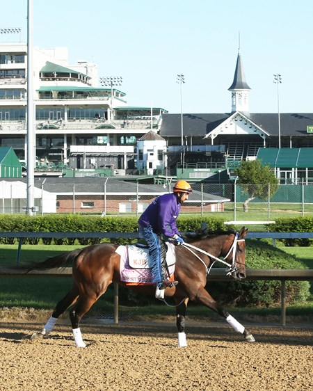 Miss Sky Warrior - Gallop, Churchill Downs - April 24, 2017