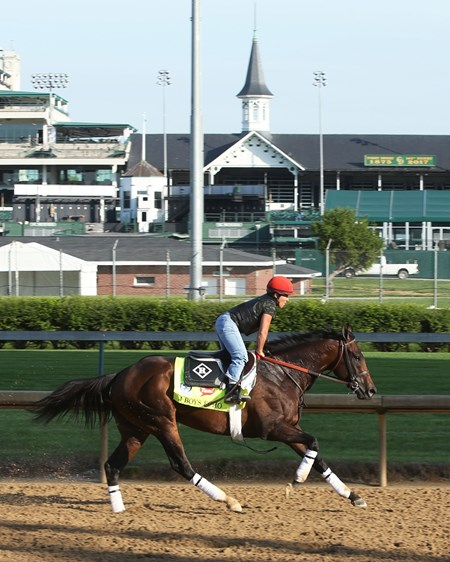 J Boys Echo - Gallop, Churchill Downs - April 26, 2017