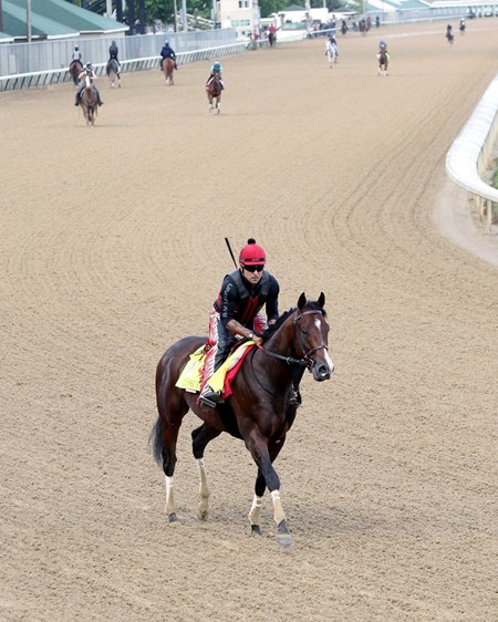 Classic Empire - Gallop, Churchill Downs - April 27, 2017