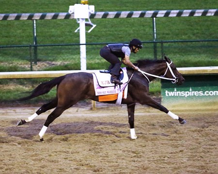 Miss Sky Warrior - Work - Churchill Downs - 04-27-17