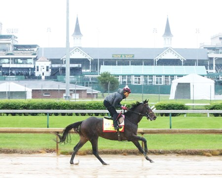 McCraken - Gallop - Churchill Downs - 04-22-17