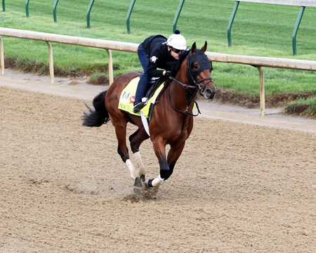 Practical Joke - Gallop, Churchill Downs - April 27, 2017