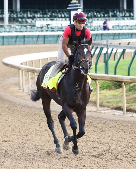 McCraken - Work - Churchill Downs - 04-27-17