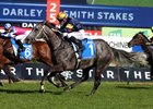 Chautauqua wins the April 1 T J Smith Stakes at Randwick
