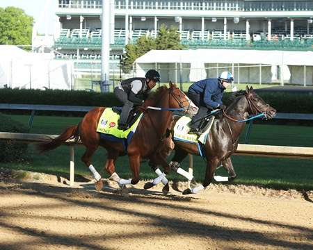 Hence (Outside) - Local Hero (Inside) - Work - Churchill Downs - 04-24-17
