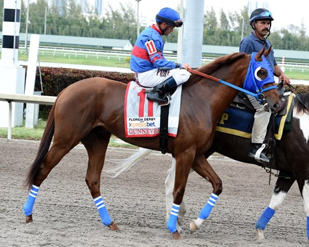 2017 Florida Derby Post Parade Gunnevera