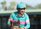 Victor Espinoza is scheduled to ride Santa Anita Derby winner Gormley in this year's Belmont Stakes