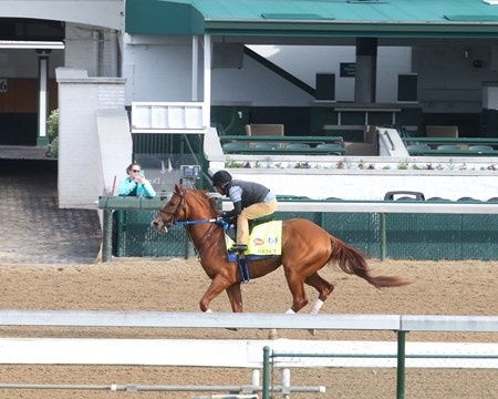 Hence - Gallop - Churchill Downs - 04-28-17