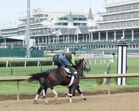Battalion Runner (Inside) - Work - Churchill Downs - 04-28-17