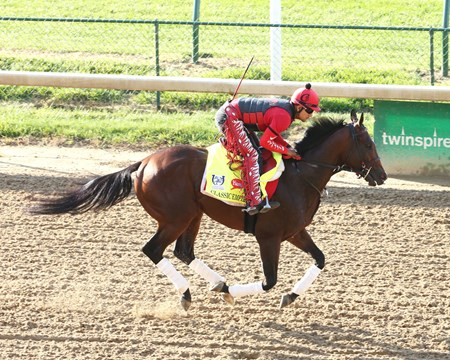 Classic Empire  - Gallop, Churchill Downs - 04-26-17