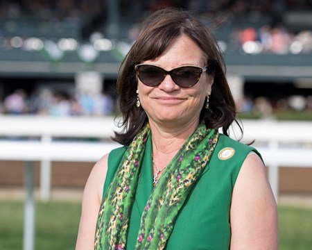 Barbara Banke Senior Investment with Channing Hill up wins The 36th Running of The Stonestreet Lexington (G3) at Keeneland on April 15, 2017 Keeneland in Lexington, Ky.