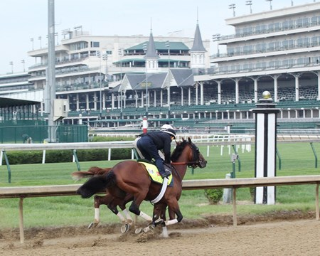 Practical Joke - Work - Churchill Downs - 04-28-17